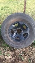 Landcruiser gxl rims and tyres Mudgee Mudgee Area Preview