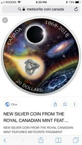 Royal Astronomical Society Meteorite Coin