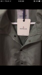 MONCLER jacket size L brand new tags