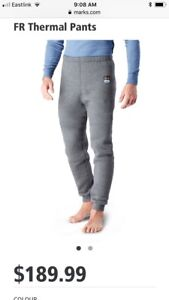 NEW! Helly Hansen FR thermal pants