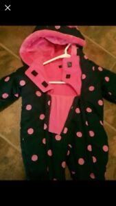 Little girl snow suits