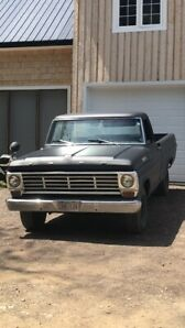 67 ford F100 (also Harley DYNA avail)