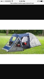 Selling super dome 6 outdoor works tent $100