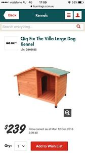 Qiq fix the villa dog kennel from Bunnings Yarrawarrah Sutherland Area Preview