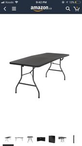 $50 Half price GREAT CONDITION foldable table