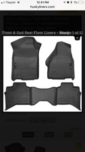 Husky Weather Beater Floor Liners