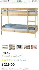 IKEA Mydal Bunk Beds
