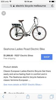 Electric bicycle new condition