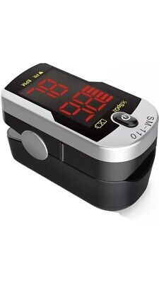 Santa Deluxe Sm-110 Two Way Display Finger Pulse Oximeter With Carry Case And Ne