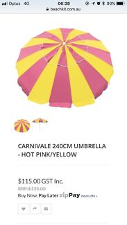 Beach Umbrella - Great for Summer - Barely Used