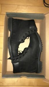 TIMBERLAND BOOTS ALL BLACK WOMENS 7 US
