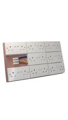 16 Way MDF Board Socket Only Hydroponics Contractor Board