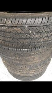 Bridgestone all season tires 255/70/17