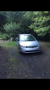 06 civic 104,000 kms 5speed OPEN TO OFFERS