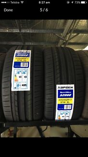 TYRES NEW AN SECONDHAND