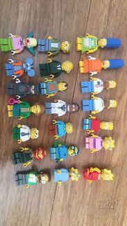 Lego Simpsons Minifigures