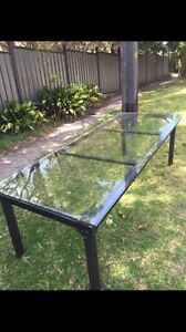 Glass table St Ives Ku-ring-gai Area Preview