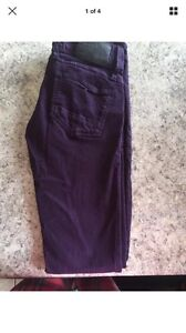 Size 26 purple g star raw pants