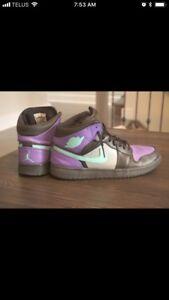 Custom painted Nike Jordan 1