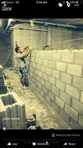 Bricklaying service