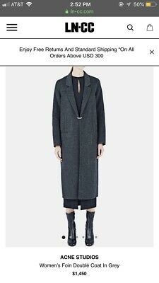 Acne Studios Foin Coat
