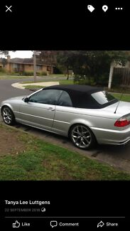 Bmw E46 330ci 2003–convertible Officer Cardinia Area Preview