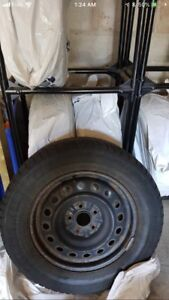 4 gently used continental 215/65R16 winter tires