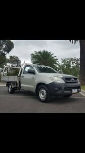 Toyota hilux Workmate  2.7  5sp man cab chassis Keilor Park Brimbank Area Preview