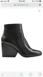Authentic Robert Clergerie Leather Ankle Boots