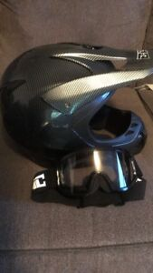 Skidoo helmet/goggles