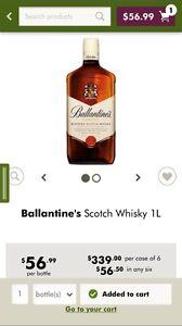 Ballantine' s Scotch Whisky 1l Chadstone Monash Area Preview