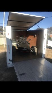 3 Bike fully enclosed motorbike Trailer Glenning Valley Wyong Area Preview