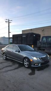 2010 Mercedes e350 4matic with warranty winter ready