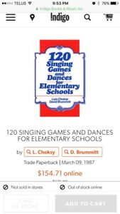 Wanted; music book for elementary music classroom