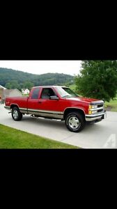 Looking for a 1996-1998 Chev/GMC 4x4 extended cab