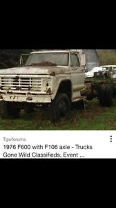 Looking for f106 axles also know as FDS75