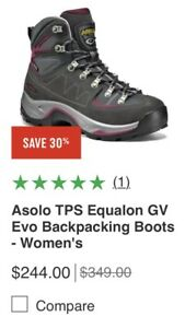 Asolo ladies 8 hiking boots excellent condition