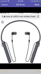 New Sony WI C400 headphones