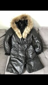 Mackage in mint condition - Black with fur collar