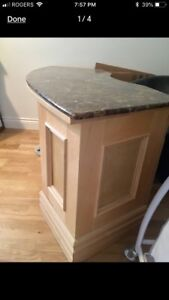 Beautiful Handcrafted Marble Desk