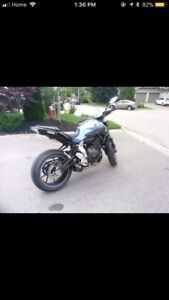 2017 Yamaha fz07 mt07 tuned modified