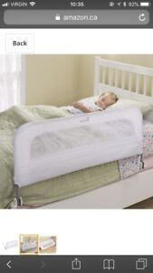 Baby bed railing
