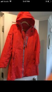 Helly Hansen Raincoat Size Large