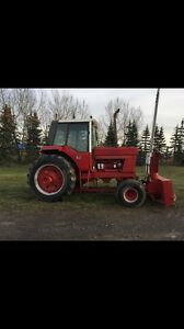 Snow blower tractor