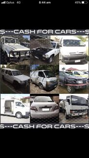 TOP DOLLAR PAID FOR UNWANTED TOYOTA COMMERCIAL TRUCKS VANS UTES ETC  Cairns Cairns City Preview