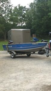 Fishing boat package.