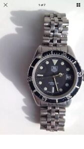 Top $$$ for vintage Heuer, Tag Heuer watches