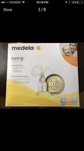 Medela electric breast pump never used