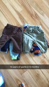 3-6 month clothing.