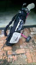 Girls set of brand new golf clubs with buggy Doubleview Stirling Area Preview